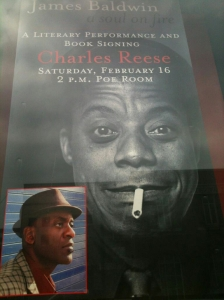 Charles Reese: James Baldwin