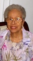 Syble Allen Williams in 2007 at age 86.  (Copyright © 2007-2013 by Leslye Joy Allen)